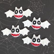 "US SELLER - 10 pcs x 2"" Resin Bat Flatback Embellishments for Halloween SB234W"