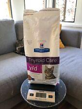 New Open Bag Hill's Prescription Diet Y/D Feline Thyroid Dry Cat Food 6 lbs