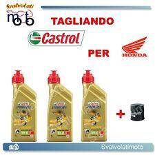 TAGLIANDO FILTRO OLIO + 3LT CASTROL POWER1 10W40 HONDA VT C-CA SHADOW 750 2006
