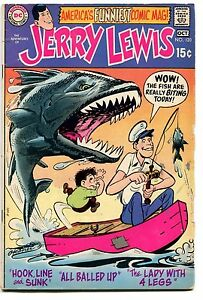 1970 Jerry Lewis #120 ~The Lady with Four Legs~ (Grade 4.0) WH
