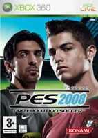 Pro Evolution Soccer Pes 2008 (Football) Xbox 360 Konami