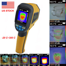 HT-02 Handheld Thermal Imaging Camera -20℃~300℃ IR Infrared Thermometer Image RT
