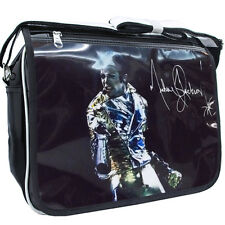 King Of POP Michael Jackson commemorate patent leather Shoulder Bag B#