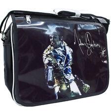King Of POP Michael Jackson commemorate patent leather Shoulder Bag B#