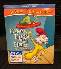 Dr. Seuss'S Green Eggs And Ham And Other Stories New Blu-Ray/Dvd W/ Slip cover