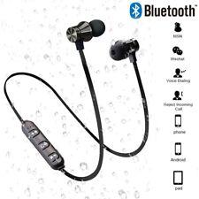 Wireless bluetooth Earphone music headset Phone Neckband sport Earbuds with Mic