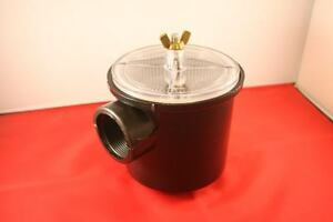 """INLET WATER STRAINER - 1.5"""" BSP Ports, Engine Inlet, Boat, Yacht"""