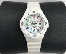 CASIO LRW-200H Women's Wrist Watch-H2O Resist.-New Batt.-Military Nbrs.-Cal.Date