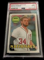2018 Topps Heritage #22 *Bryce Harper* PSA 9 MINT