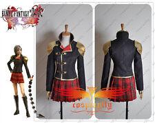 Final Fantasy Zero Ff Type-0 Seven Dress Uniform Cosplay Costume Custom Size New