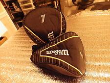 Wilson 7  gold striped head cover