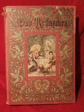 Das Kränzchen Illustriertes Mädchen Jahrbuch 8. Folge  Autorenteam um 1895 rar