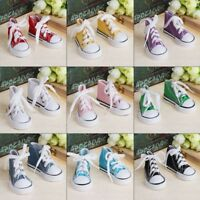 Mini Doll Shoes 1/4 Accessories Canvas Fashion Summer Toys Sneakers Denim Boots