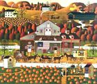 "Charles Wysocki Old Glory Farm Print S & N  With COA Image Size  20""x17"