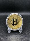 BITCOIN Kryptomünze Gold Neu <br/> 🇩🇪 Deutscher Händler 💎 Top Qualität ⚡ Blitzversand