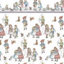 Melody Jane maison de poupées fées sur Lilas Miniature Imprimer 1:24 Nurserie Papier Peint