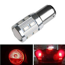 2pcs Red 9W 5630 12 LED S25 1157 BAY15D Brake Tail Car Rear Light Bulb Lamp