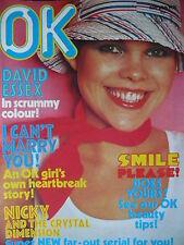 OK MAGAZINE 29TH MAY 1976 - DAVID ESSEX - SMOKIE