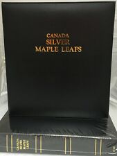 CAPS Album Canada Silver Maple Leafs for Air-Tite Coin Capsules 3190