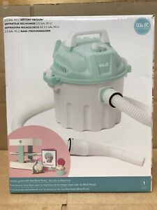 We R Memory Keepers Mold Press Wet/Dry Vacuum-White/Mint