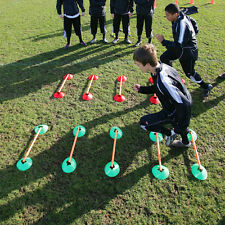NEW Precision Speed Agility Cones Set - Cheap Football Fitness Hurdle Training