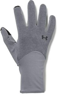 New Under Armour Women's Liner Gloves for Exercising Grey