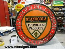 "Stanocola  Standard Oil Louisiana 18"""
