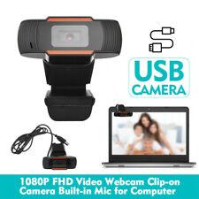 Webcam 1080P Hd Cam Câmera de foco automático da Web Com Microfone Para Pc Laptop Desktop