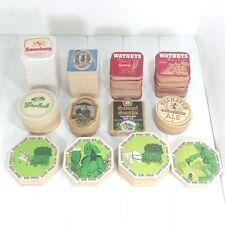 Vintage Beer Coasters Lot of 600 Pub Mats Kronenbourg Pauli Girl Fischer Grolsch