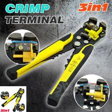 Multifunction Auto Cable Insulation Wire Striper Cutter Crimper Terminal Tools
