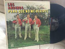 LOS ANDINOS PARA QUE NO ME OLVIDES / SELLO BORINQUEN DG-1203