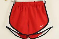 Nike Women's Dri-Fit Tempo Running Shorts sz XS Red White Black