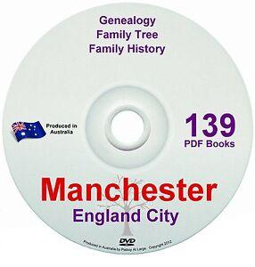 Family History Tree Genealogy Manchester England Britain 139 historic books