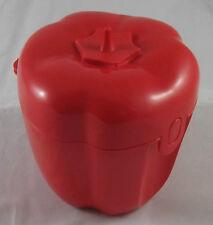 Tupperware Rote Paprika Paprikabox Paprikadose Dose Behälter Box Rot Neu OVP