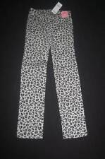 NWT Gymboree Tres Fabulous Gray Black Leopard Pants sz 2 Straight Leg Jeans NEW