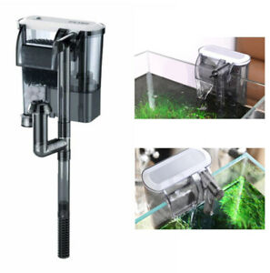 Filtro esterno per pulizia acquario regolazione flusso 160L/H 2.5W XP-03
