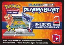 20 NEW Black&White Plasma Blast Codes BW10 Pokemon TCG Online Booster - EMAILED