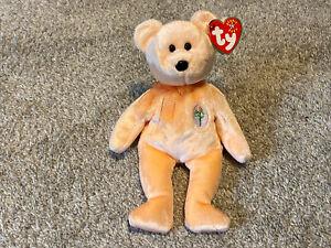 Ty Dearest Teddy Bear Beanie Baby With Errors