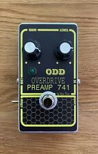 ODD OVERDRIVE PREAMP 741 Effect Pedal with boost function GRAY DOD 250 CLONE