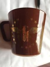 Corning Ware Pyrex 1410 Federal Brown Eagle Coffee Mug