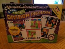 READY SET...FLASHCARD GAMES DEEP SPACE DIVISION FISSION MATHEMATICAL FLASHCARDS