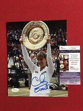 "Chris Evert, ""Autographed"" (JSA) 8 x 10  Photo"