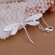 Fashion Schmuck Silber 925 Anhänger & Kette Schmetterling Modeschmuck Libelle
