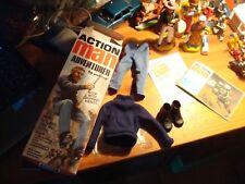 ACTION MAN   Gi Joe BOITE VIDE + TENUE
