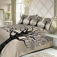Indian Tree of Life Bedding Set Cotton Quilt Duvet Doona Cover Super King Size