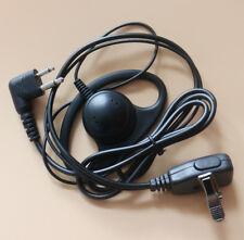 2 pin D Shape Earpiece Headset Microphone For Motorola CP040 CP100 Radio