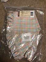 Longaberger 2005 Easter Basket Fabric Liner EASTER PLAID #23061235 NEW