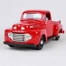 1948 FORD F-1 PICKUP TRUCK RED 1:25 DIECAST MODEL BY MAISTO 31935