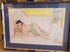 Vargas 1943 June Esquire  Calender Girl