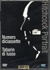 Alfred HITCHCOCK: NUMERO DICIASSETTE & TABARIN DI LUSSO - 2 FILM in 1 DVD *NUOVO